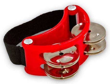 Latin Percussion LP188 Foot Tambourine Product Image 2