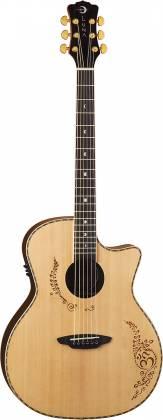 Luna VG SIG 6 String RH Vicki Genfan Signature Acoustic-Electric Guitar Product Image 3
