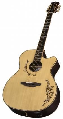 Luna VG SIG 6 String RH Vicki Genfan Signature Acoustic-Electric Guitar Product Image 8