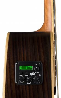 Luna VG SIG 6 String RH Vicki Genfan Signature Acoustic-Electric Guitar Product Image 7