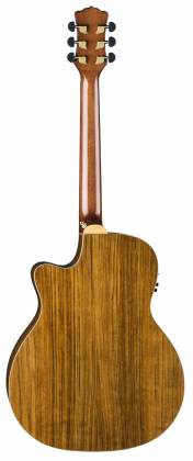 Luna VISTA BEAR Tropical Wood 6 String RH Acoustic-Electric Guitar with Case Product Image 4