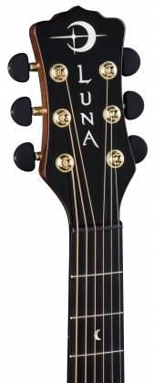 Luna VISTA BEAR Tropical Wood 6 String RH Acoustic-Electric Guitar with Case Product Image 7