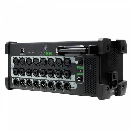 Mackie DL16-S 16-Channel Wireless Digital Live Sound Rack Mixer with Pro Tools First Software Product Image 3