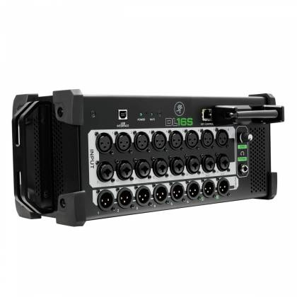 Mackie DL16-S 16-Channel Wireless Digital Live Sound Rack Mixer with Pro Tools First Software Product Image 4