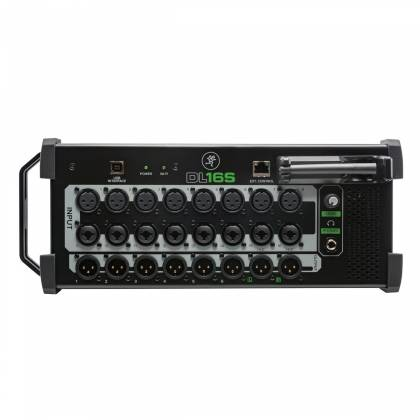 Mackie DL16-S 16-Channel Wireless Digital Live Sound Rack Mixer with Pro Tools First Software Product Image 5