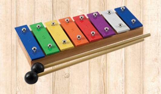 Mano MP GS 8 M Glockenspiel 8 Note model with Mallets mp-gs-8-m Product Image 2