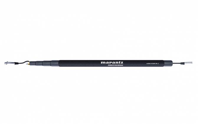 Marantz Pro AudioScopeB9-C 4 Section 9 Foot Boom Pole with Integrated XLR Cable Product Image 2