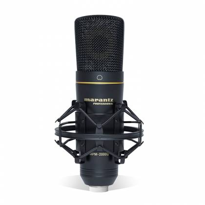 Marantz Pro MPM2000U USB Studio-Quality Condenser Microphone for DAW  Recording