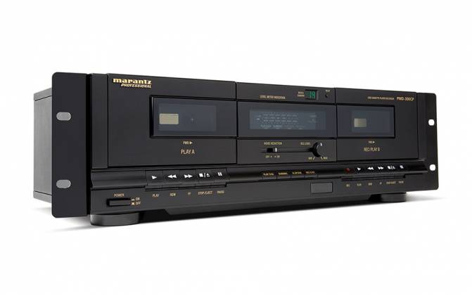 Marantz Pro PMD300CP Dual Cassette Recorder/Player with USB Product Image 2