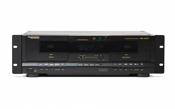 Marantz Pro PMD300CP Dual Cassette Recorder/Player with USB Product Image 4