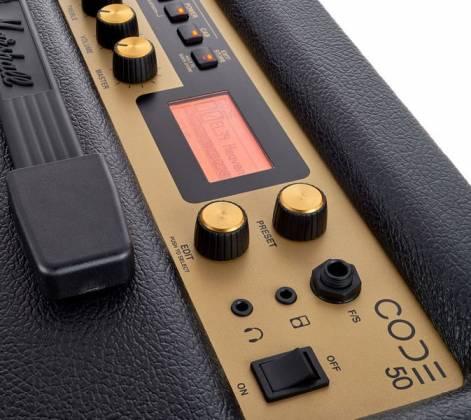 Marshall CODE50 Bluetooth Enabled Code Series 50 Watt Digital Guitar Amplifier Combo Product Image 7