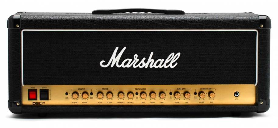 Marshall DSL100HR 100W Tube Guitar Amplifier Head dsl-100-hr Product Image 2
