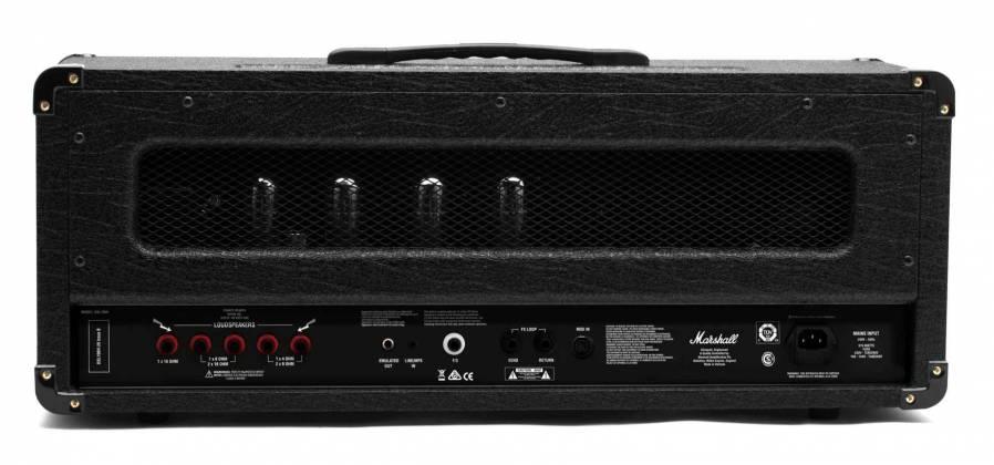 Marshall DSL100HR 100W Tube Guitar Amplifier Head dsl-100-hr Product Image 3
