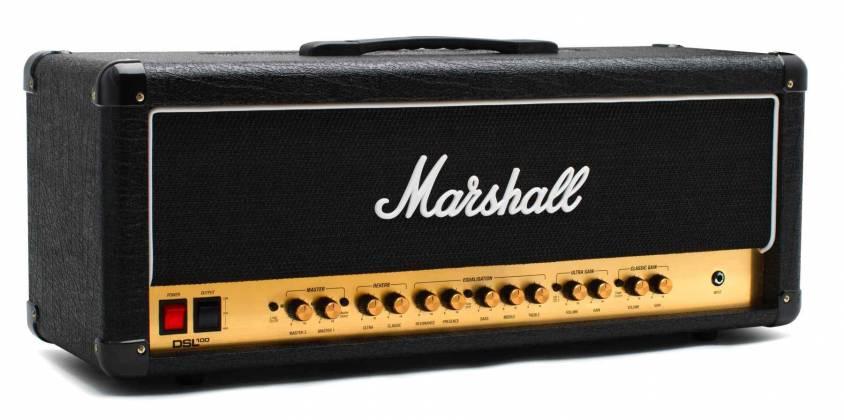 Marshall DSL100HR 100W Tube Guitar Amplifier Head dsl-100-hr Product Image 4