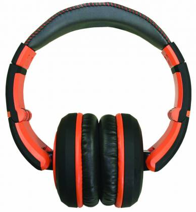 CAD Audio MH510OR The Sessions Professional Closed-Back Studio Headphones in Black and Orange Product Image 2