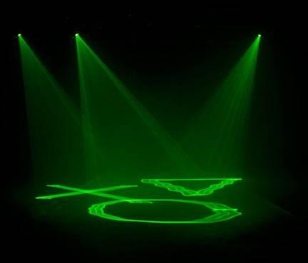 American DJ MICRO-SKY portable green laser Product Image 5