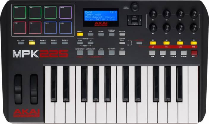 Akai MPK225 Performance Keyboard Controller Product Image 3