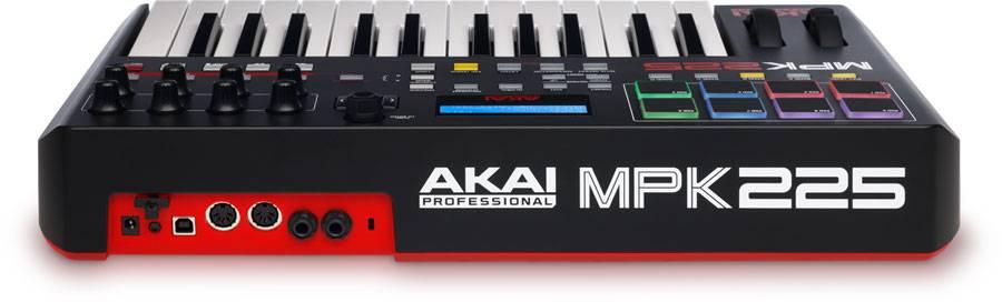 Akai MPK225 Performance Keyboard Controller Product Image 4