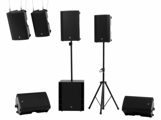 Mackie Thump12BST Thump Boosted 1300W 12 Inch Powered Loudspeaker with Bluetooth and Built in Mixer Product Image 7