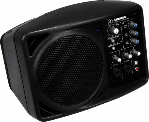 Mackie SRM150 Compact Active PA System - use with Ipod - Guitar - Microphone Product Image 2