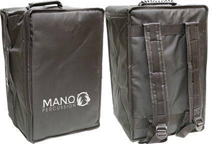 Mano MP CAJ 100 ES Ebony Stripes Cajon with Foam Seat Pad and gig bag mp-caj-100-es Product Image 3