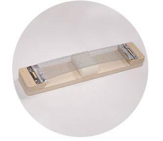 Mano MP CAJ 100 ES Ebony Stripes Cajon with Foam Seat Pad and gig bag mp-caj-100-es Product Image 2