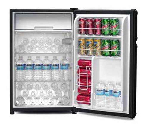 Marshall MF-110-NA 4.4 Cubic Feet High Capacity Bar Fridge and Freezer - LIMITED QTY Product Image 11