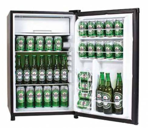 Marshall MF-110-NA 4.4 Cubic Feet High Capacity Bar Fridge and Freezer - LIMITED QTY Product Image 15