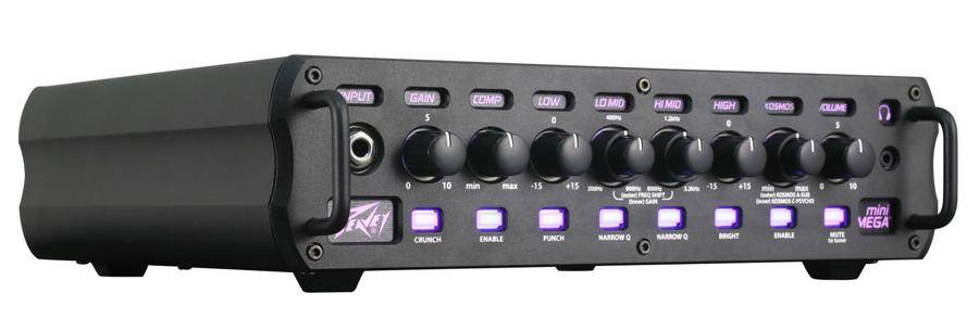 Peavey 03612360 MiniMEGA 1000 Bass Amplifier Head with 1000W Into 4 Ohms Product Image 2