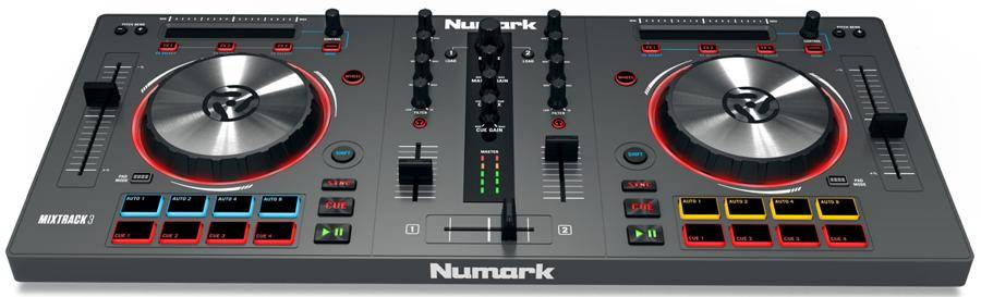 Numark MixTrack 3 All-in-one Controller for Virtual DJ Product Image 2