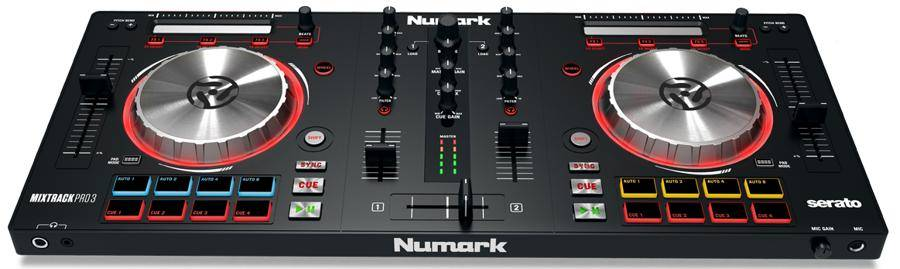 Numark MixTrack Pro 3 All-in-one Controller for Serato DJ Product Image 2