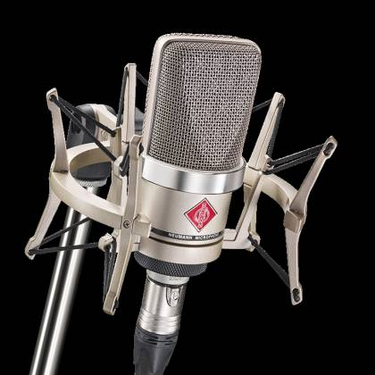 Neumann TLM 102 STUDIOSET Large-Diaphragm Condenser Microphone in Nickel-Studio Set Product Image 8