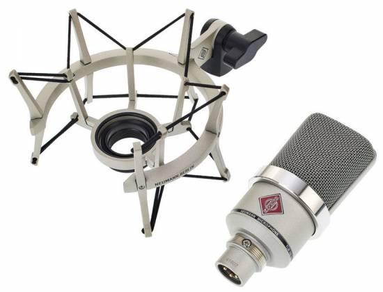 Neumann TLM 102 STUDIOSET Large-Diaphragm Condenser Microphone in Nickel-Studio Set Product Image 11