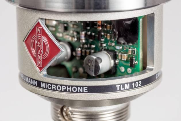 Neumann TLM 102 STUDIOSET Large-Diaphragm Condenser Microphone in Nickel-Studio Set Product Image 9