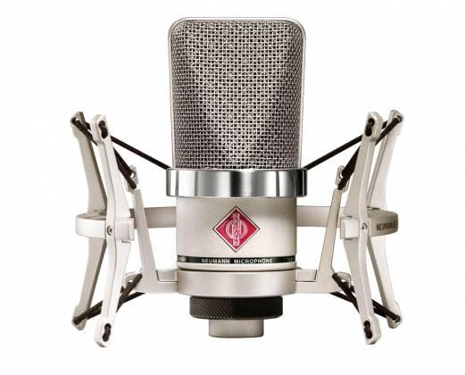 Neumann TLM 102 STUDIOSET Large-Diaphragm Condenser Microphone in Nickel-Studio Set Product Image 2