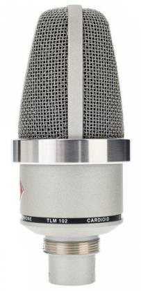 Neumann TLM 102 STUDIOSET Large-Diaphragm Condenser Microphone in Nickel-Studio Set Product Image 7