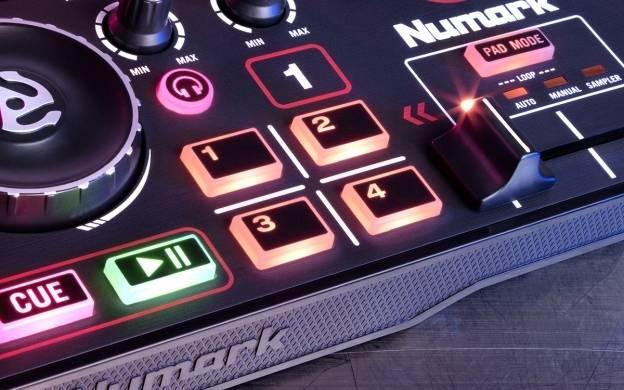 Numark DJ2GO2 Pocket DJ Controller with Audio Interface dj-2-go-2 Product Image 4