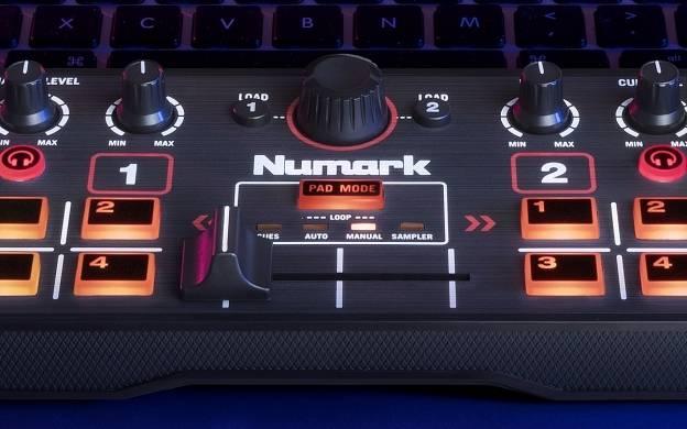 Numark DJ2GO2 Pocket DJ Controller with Audio Interface dj-2-go-2 Product Image 5