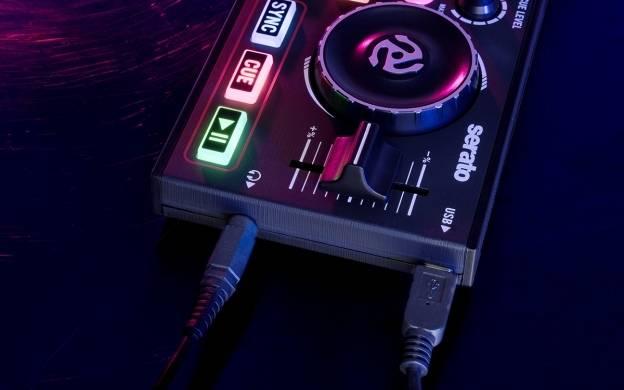 Numark DJ2GO2 Pocket DJ Controller with Audio Interface dj-2-go-2 Product Image 6