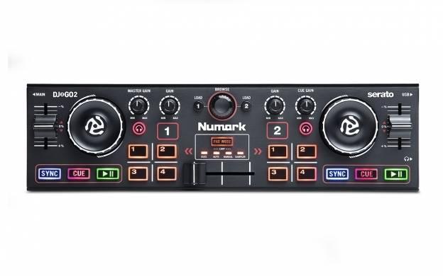 Numark DJ2GO2 Pocket DJ Controller with Audio Interface dj-2-go-2 Product Image 7