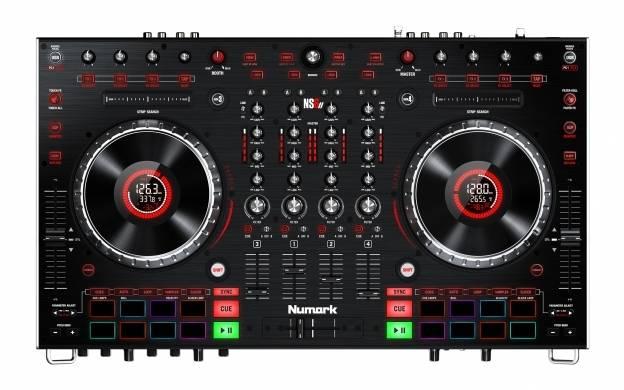 Numark NS6II 4-Channel Premium DJ Controller Product Image 4