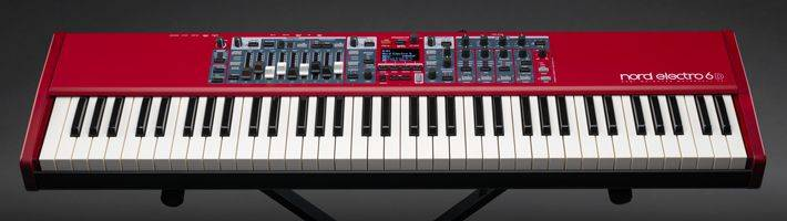 Nord By Clavia ELECTRO6D61 Semi-Weighted Waterfall Action 61 Key Keyboard Product Image 3