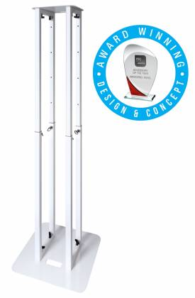 Novopro PS1XL Variable Height Podium Stand 68.8 Inch Max Height Product Image 2