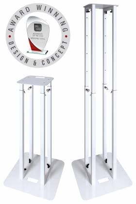 Novopro PS1XL Variable Height Podium Stand 68.8 Inch Max Height Product Image 5