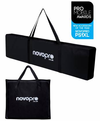 Novopro PS1XL Variable Height Podium Stand 68.8 Inch Max Height Product Image 7