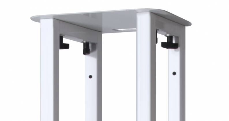Novopro PS1XL Variable Height Podium Stand 68.8 Inch Max Height Product Image 10