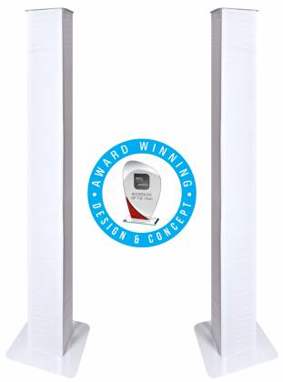 Novopro PS1XXL Variable Height Podium Stand 98 Inch Max Height Product Image 12