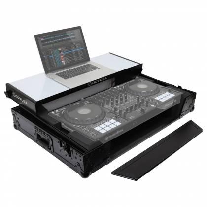 Odyssey FFXGSDDJ1000WBL FX Glide Style DJ Controller Case with 1U Rack Space Product Image 2