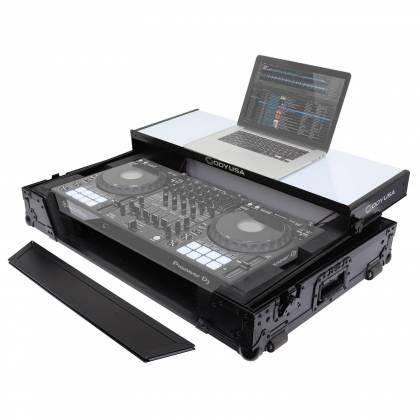 Odyssey FFXGSDDJ1000WBL FX Glide Style DJ Controller Case with 1U Rack Space Product Image 4