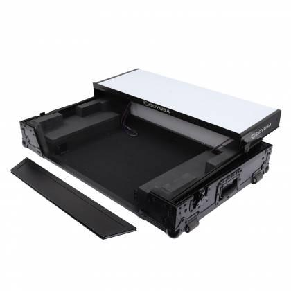 Odyssey FFXGSDDJ1000WBL FX Glide Style DJ Controller Case with 1U Rack Space Product Image 5